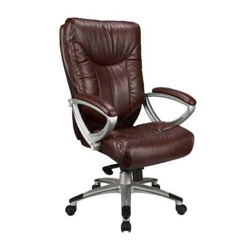 כסא מנהלים סיטי-חום
