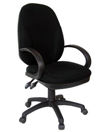 כסא מזכירה גל ידיות עגולות