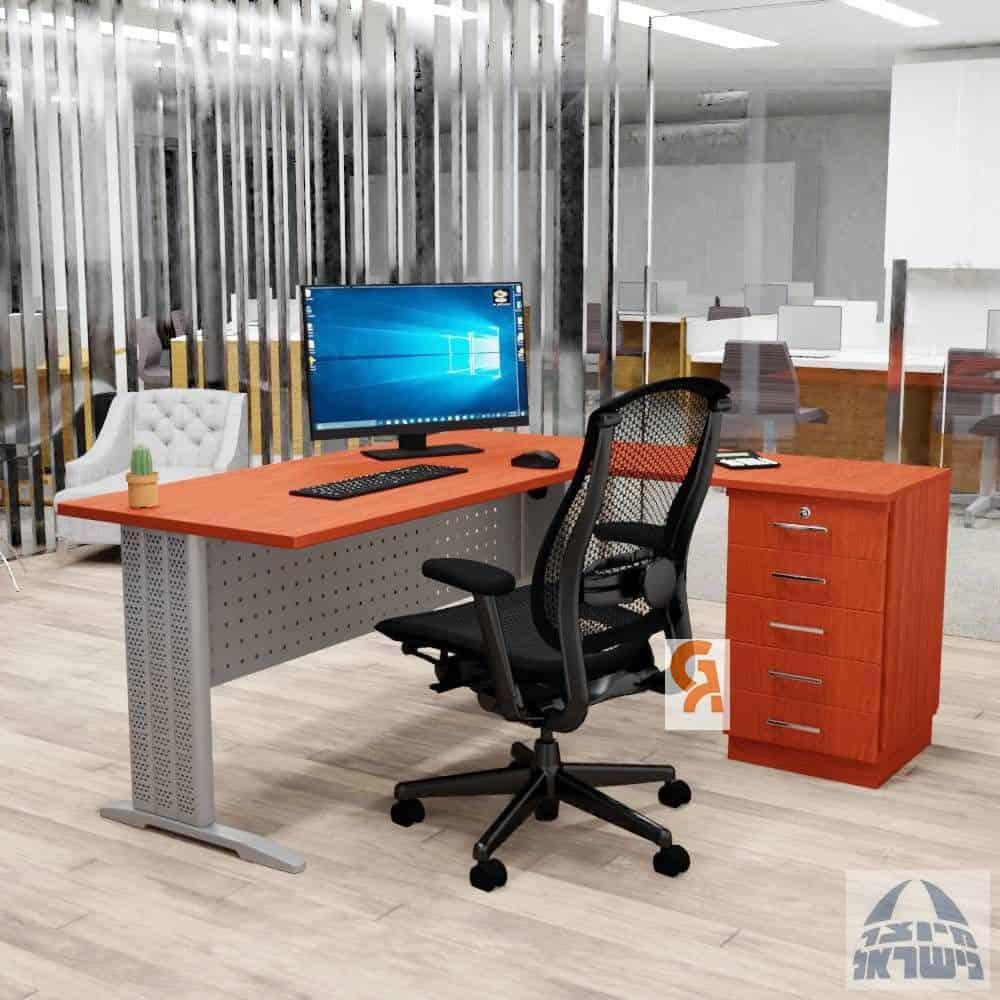 שולחן עבודה פינתי דגם אלפא