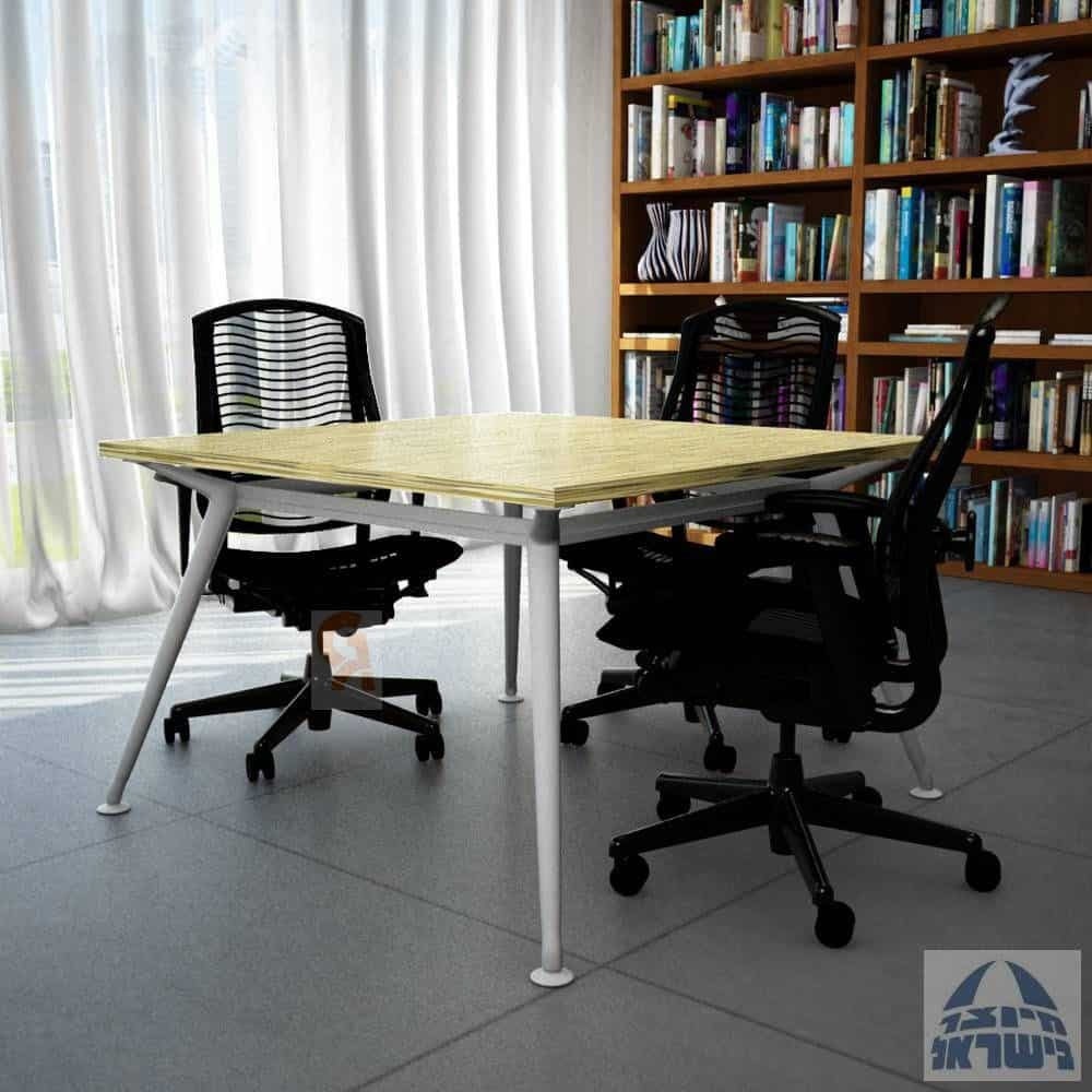 שולחן ישיבות מפואר דגם ספיידר מרובע