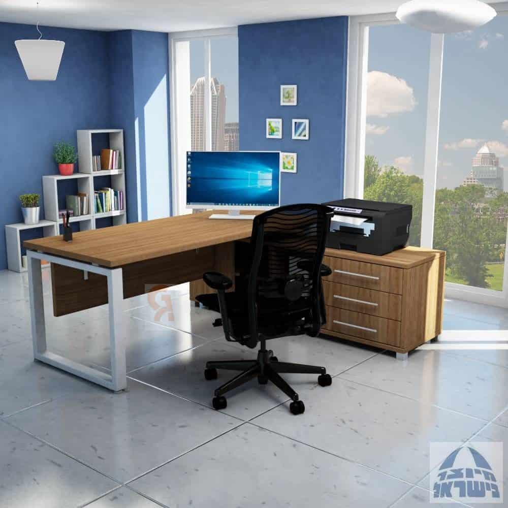 שולחן מנהלים פינתי דגם  חלון