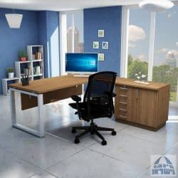 שולחן עבודה פינתי דגם חלון